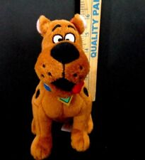 "Scooby Doo Where Are You TY Plush Stuffed Animal beanie Baby 7"" Brown Dog"