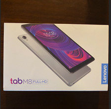 "Lenovo Tab M8 FHD TB-8705F 32GB, Wi-Fi, 8"" - Iron Gray - NEW and Sealed"