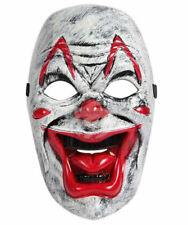 Horror Clown Maske für Erwachsene Halloween Karneval Fasching Neu OVP
