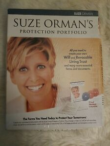 Suze Orman's Will and Trust Kit: The Ultimate Protection Portfolio CD - NEW