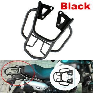 1PC Rear Shelf Refitted Box Tail Fin Luggage Rack Black Motorcycle Accessories