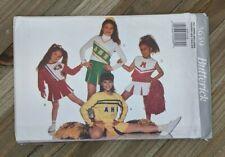 Butterick Sewing Pattern #3659 : Girls Cheerleader Uniform Costume : Sz 4-14
