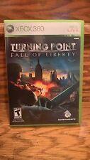 Turning Point: Fall of Liberty (Microsoft Xbox 360, 2008)