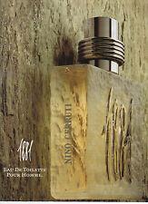 Publicité Advertising  ///   1881  eau de toilette  NINO  CERRUTI