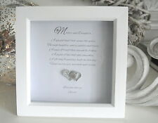 Mother Daughter Frame Gift Keepsake Mothers Day Birthday Mother of the Bride F15