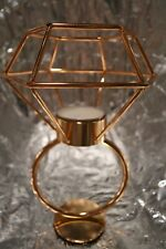 Unique Diamond Shape Tealight Candle Holder Stand Wedding Party Table Decor Gift
