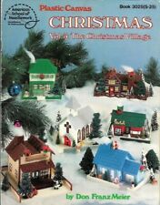 Christmas Vol 3 The Christmas Village in Plastic Canvas ASN 3025(s-25) 6 Designs
