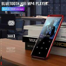Portable Bluetooth 5.0 Lossless Mp3 Player Recorder Media HiFi Audio Fm Radio16G