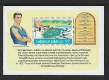 1984 Olympics LA Mini sheet Ex Booklet Complete MUH/MNH as issued