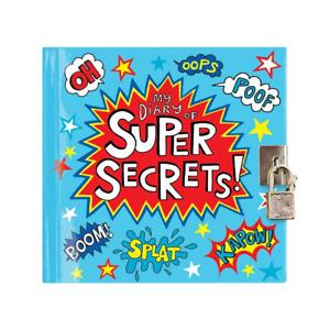 Rachel Ellen My Diary of Super Secrets! - Boys / Girls Secret Diary - Gift Idea