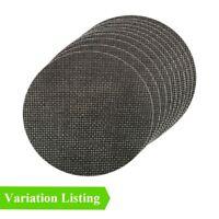 Hook and Loop 150mm Mesh Sanding Discs, Orbital Sandpaper Pads / Grit Options