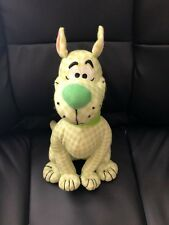 """14"""" Scooby Doo Plush Dog Toy Factory Green Plaid"""