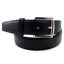 MENS 5XL PLUS BIG SIZE Casual Black Dress Leather Belt w Buckle New XXXXXL 58-60