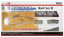 ROKUHAN Z gauge R063 Rail set D Single track solid intersection set