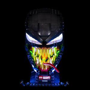 LIGHT MY BRICKS - LED Light kit for LEGO Marvel Venom 76187 LED Light kit
