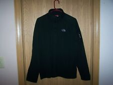 THE NORTH FACE MEN'S HOMMES FLASH DRY  XL  1/4 ZIP FLEECE PULLOVER BLACK