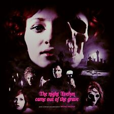 NEW The Night Evelyn Came Out Of The Grave Vinyl Mondo Italian Horror Giallo OOP
