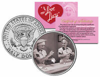 I LOVE LUCY The Chocolate Scene * LUCILLE BALL * JFK Kennedy Half Dollar US Coin