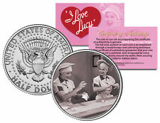 I LOVE LUCY The Chocolate Scene * LUCILLE BALL * JFK Kennedy Half Dollar US Coin