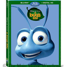 Pixar A Bug's Life Ants Insect Circus Family Comedy on Blu-ray & Digital Copy
