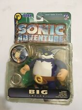 RARE!! Sonic Adventure BIG THE CAT Action Figure Sonic the Hedgehog Toy resaurus