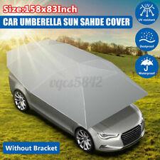 Universal Portable Car Tent Umbrella Sun Shade Roof Cover UV Protection SLIVER