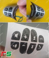 ADESIVI decal comandi al volante alfa romeo 147 156 GT sticker tuning carbonlook