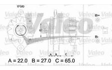 VALEO Alternador para RENAULT KANGOO CLIO 21 MASTER 19 TRAFIC ESPACE 25 11 30 43
