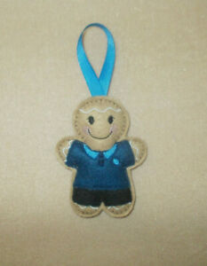 Scout / Girl Guide / Female Youth Leader Gingerbread Felt Embroidered decoration