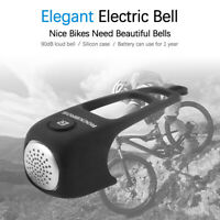 RockBros Bike Bell Bicycle Handlebar Mount Alarm Clear Loud Warning Horn CS541