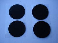 Lot de 650 pastilles scratch agrippantes diamètre 33 mm (noir adhésif)