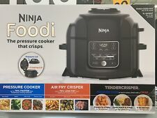 Ninja OP302 Foodi Cooker Steamer Air w/TenderCrisp Technology Pressure Cooker