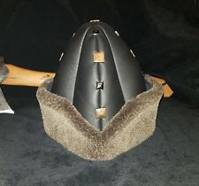 ertugrul turgut bey Kayi turkish leather and fur alp hat kids