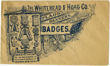 1890s Whitehead & Hoag Co. Campaign Paraphernalia Advertising Postal Cover