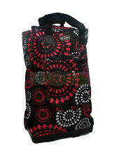 35L Foldable Shopping Cabin Bag Trolley with Wheels Lightweight Compact SPARKLE