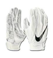 Nike Superbad Receiver Men's Football Gloves White Small S BRAND NEW $55