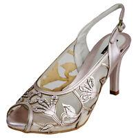 RRP £150 Top Brand Womens Ladies High Heels Sandals Wedding Party Shoes UK 5-7