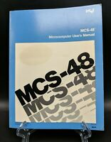 INTEL MCS-48 MICROCONTROLLER / MICROCOMPUTER CHIP User Reference Manual, 1976