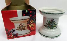 Mikasa Christmas Treats Pillar Candle Holder Original Box Japan