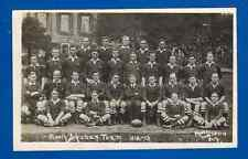 South African Team 1912-13, RP Viners, Weston-super-Mare vintage rugby postcard