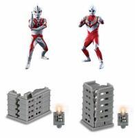 bandai Ultimate Luminous Ultraman 11 Gashapon 4 set mini figure capsule toys