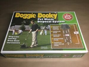 Doggie Dooley In Ground Pet Waste Disposal System Environmentally Friendly NEW