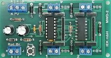 Weichendecoder, W-DEC, 2 polige Antriebe, einspulig, DCC Standard digital, IEK