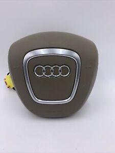 Audi A3 A4 A5 A6 A8 Q5 Q7 4 spokes steering wheel 8K0880201E 6PS TAN