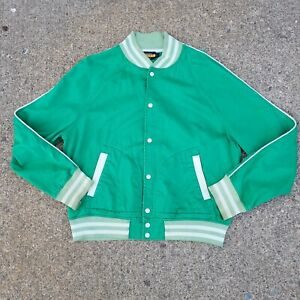 Vtg Rugby Ralph Lauren Kelly Green Varsity Jacket