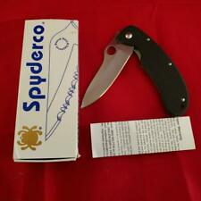 Spyderco C48GP Tim Wegner ATS-34 Folding Knife NEW Discontinued Plain Edge NIB