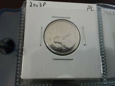 2003p   high grade  PROOF LIKE Beautiful CANADA 25 cents