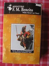 figurine en plomb BENEITO : officier du 42° régiment Highlanders Balaklava 1854