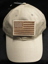 8aca5c58303 Nike Golf Unstructured Khaki Twill Dad Hat W  Desert Storm American Flag  Patch