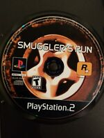 Sony PlayStation PS2 Smuggler's Run Video Game DISC ONLY NO MANUAL FREE SHIPPING
